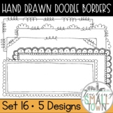 Loop-de-do Rectangular Doodle Frames [Set 1] 20 Frames for