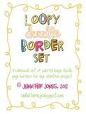 Loopy Doodle Borders Bundle - (Set of 9)