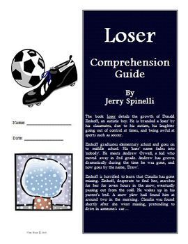 Loser by Jerry Spinelli Reading  Activities Super Bundle