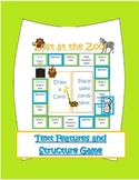 """Lost at the Zoo"" Text Structure and Text Features Board Game"