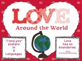 Love Around the World ~Bulletin Board Posters