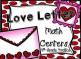 Love Letter Math Centers