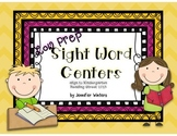Low Prep Sight Word Centers