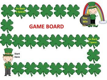 Luck O' the Irish:  Math and Literacy Activities