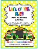 Luck of the Irish {math and literacy}