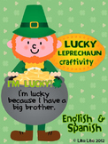 Lucky Leprechaun craftivity