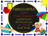 MAFS KINDERGARTEN FLORIDA Math Standards Learning Goals wi