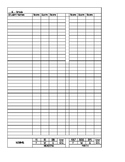 MAP Recording Sheet and Data Tracking