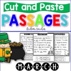 MARCH SIGHT WORD CUT AND PASTE PASSAGES FREEBIE