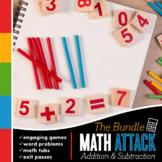MATH ATTACK!: First Grade Common Core Math Mega-Pack {Addi
