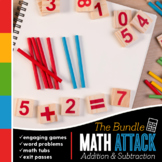 First Grade Addition and Subtraction Bundle
