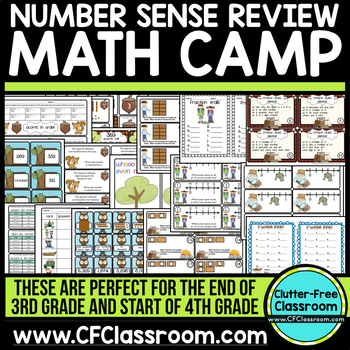 MATH CAMP: NUMBER SENSE grades 2-4