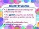 MATH PROPERTIES Commutative, Associative, Distributive, &