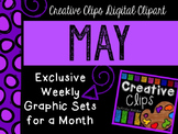 MAY 2015 Graphics Club {Creative Clips Digital Clipart}