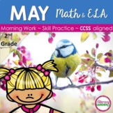 MORNING WORK {Daily Common Core & More} - MAY ~ 2nd Grade