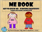 ALL ABOUT ME BOOK Get to Know Me-Writing Craftivity Common