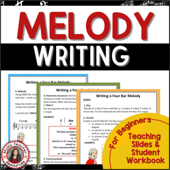MUSIC COMPOSITION: A Step by Step Approach for Young Musicians