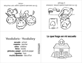 Minibook Series in Spanish: All about my school