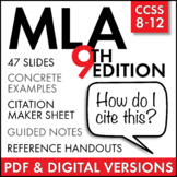 MLA Citation Lecture - Master in-text citation and works c