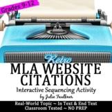 MLA Internal & External Website Citations: Interactive Pra