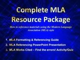 MLA Resource Package