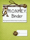 MONKEY Organizational Binder Starter Kit
