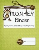 MONKEY Organizational Binder Starter Kit
