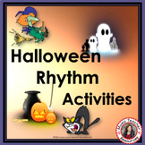 RHYTHM: Halloween Rhythm Activities