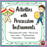 PERCUSSION CHARTS and COMPOSITION