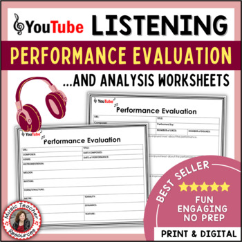 MUSIC: Performance Evaluation and Analysis Sheets