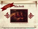 Macbeth Novel Study Unit ~ Includes Reproducible Graphic O