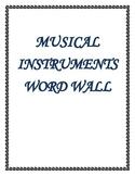MaestroLeopold'sAlphabetical Music Instrument Word Wall