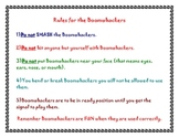 MaestroLeopold'sRules for Boomwhacker Classroom Sign