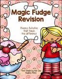 Magic Fudge (/j/ sound spelled ge & gi)