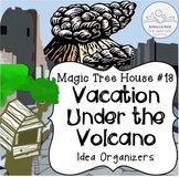 Magic Tree House #13 Vacation Under the Volcano Idea Organizers