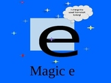 "Magic ""e"" fluency practice"
