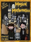 Harry Potter: Magical Mathematics ~ Color By The Code Math