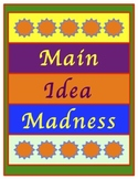 Main Idea Madness Main Idea Game