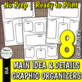 Main Idea & Supporting Details Organizer