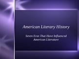 Major American Literary Eras PowerPoint