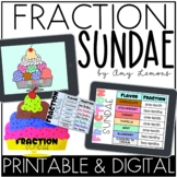 Make A Fraction Sundae