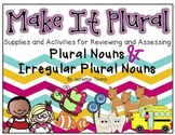 Make It Plural- Regular and Irregular Plural Nouns Fun