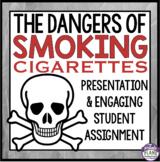 SMOKING CIGARETTES - TOBACCO Health Powerpoint Presentatio