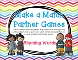 Make a Match Rhyming Set 1