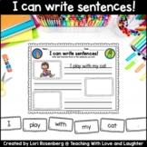 I Can Write Sentences!