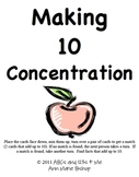 Making 10 Concentration and Making 20 Concentration