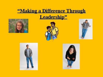 Making A Difference Through Leadership