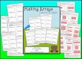 Making Arrays Worksheet Set