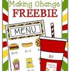 Making Change Freebie