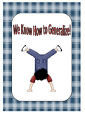 Making Generalizations with introduction
